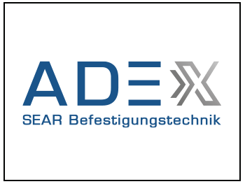 Logo Adexx SEAR Befestigungstechnik
